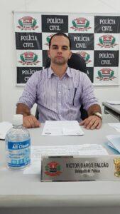 Delegado Dr. Victor Falcão - DDM Caraguatatuba