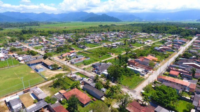 Área do Balneário onde a EDP fará as ligaçõs residenciais (Foto: Divulgação/PMC)