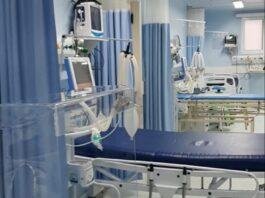 Entrega de leitos e respiradores na UPA