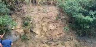 Escorregamento de terra no Varadouro pode fechar a SP-55