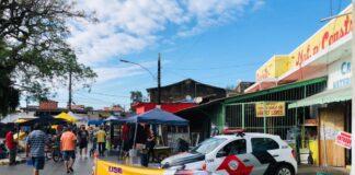 Fiscalização na segunda fase da retomada econômica (Foto: Divulgação/PMC)