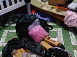 98 kg de drogas foram encontrados debaixo do berço do bebê