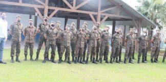 30 soldados do Exército chegaram à Caraguá nesta terça-feira (16) - Imagem: PMC