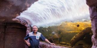 Hugo Gallo e o Aquário de Ubatuba