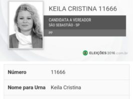 A cabeleireira Keila Cristina foi candidata a vereadora mas não se elegeu
