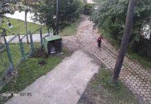 A estudante Júlia foi vista pela última vez voltando pela trilha Maresias-Paúba (Imagem: Circuito de segurança)