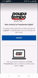 O aplicativo do Poupatempo é gratuito e permite agendamento dos atendimentos
