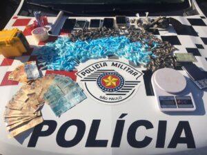 Operação Código de Ética: Polic Apreensão de drogas, armas e dinheiro (Imagem: Polícia Militar)