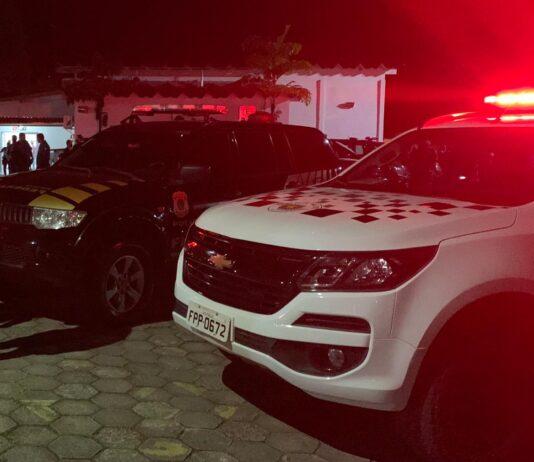 Operação Código de Ética: Policiais recebidos a bala em Caraguatatuba (Imagem: Polícia Militar)
