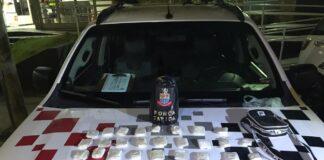 Força Tática apreendeu suspeito de tráfico de apenas 12 anos