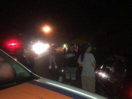 Polícia chega a Paúba onde corpo de jovem foi localizado (Foto: Divulgação)