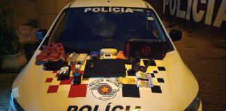 O saldo da noite foi mais de 500 porções de drogas apreendidas e objetos recuperados (Imagem: Polícia Civil)