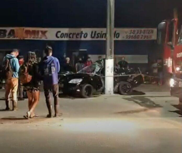 Acidente ocorreu em Ubatuba, na madrugada do último domingo (27)