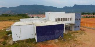 Construção da UPA Sul, pela VOLPP, quando a atual gestão assumiu (Foto: Arquivo)