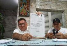 Os vereadores Ceará e Dennis Guerras entraram com peido na Câmara (Foto: Redes Sociais)
