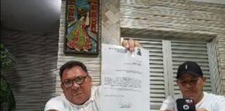 Os vereadores Ceará e Dennis Guerras entraram com pedido na Câmara (Foto: Redes Sociais)