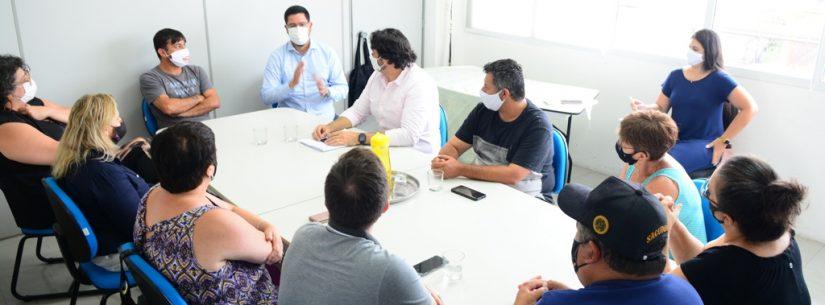 Comitê de Caraguatatuba em reunião para discutir Plano São Paulo (Foto: PMC/Divulgação)