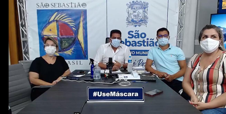 Prefeito alerta sobre UTI lotada (Foto: Redes Sociais)